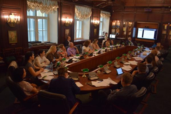 25 июня 2018 года представители СПб ГАУ ЦТР приняли участие в VII летней правовой школе «Социально-трудовые отношения с участием иностранных субъектов» СПбГУ